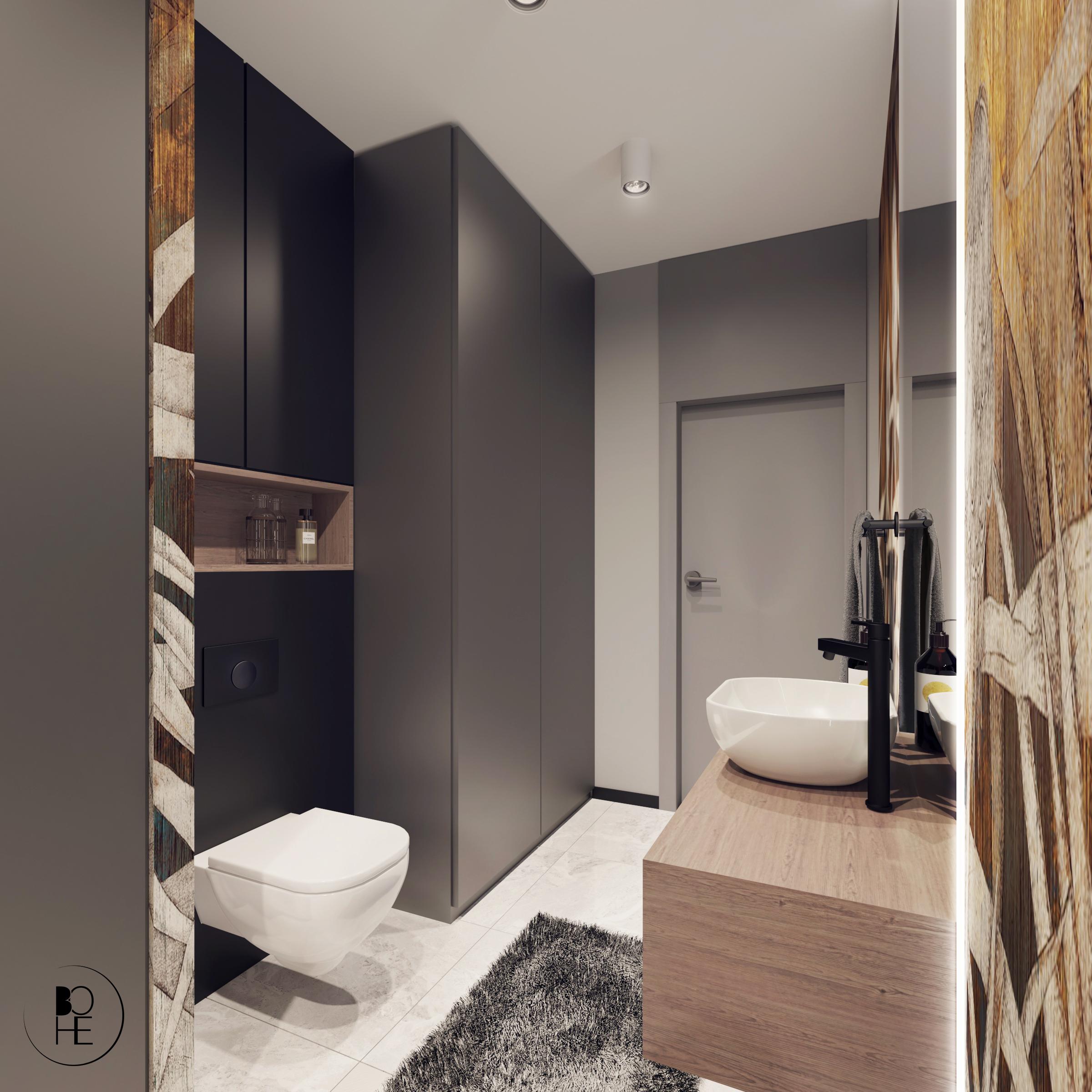 Aranżacja pomieszczenia gospodarczego z toaletą Białystok