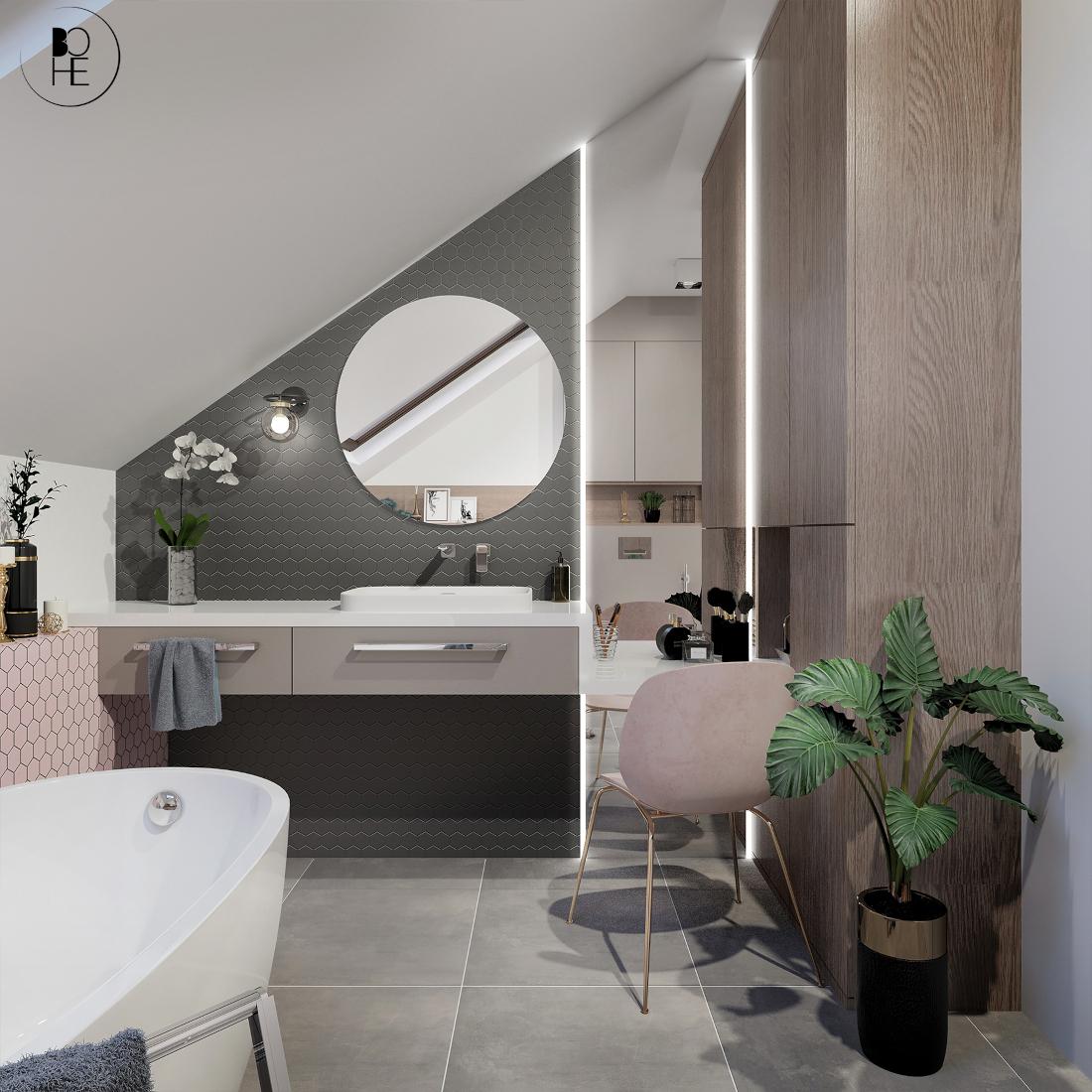 architekt białystok projekt łazienki