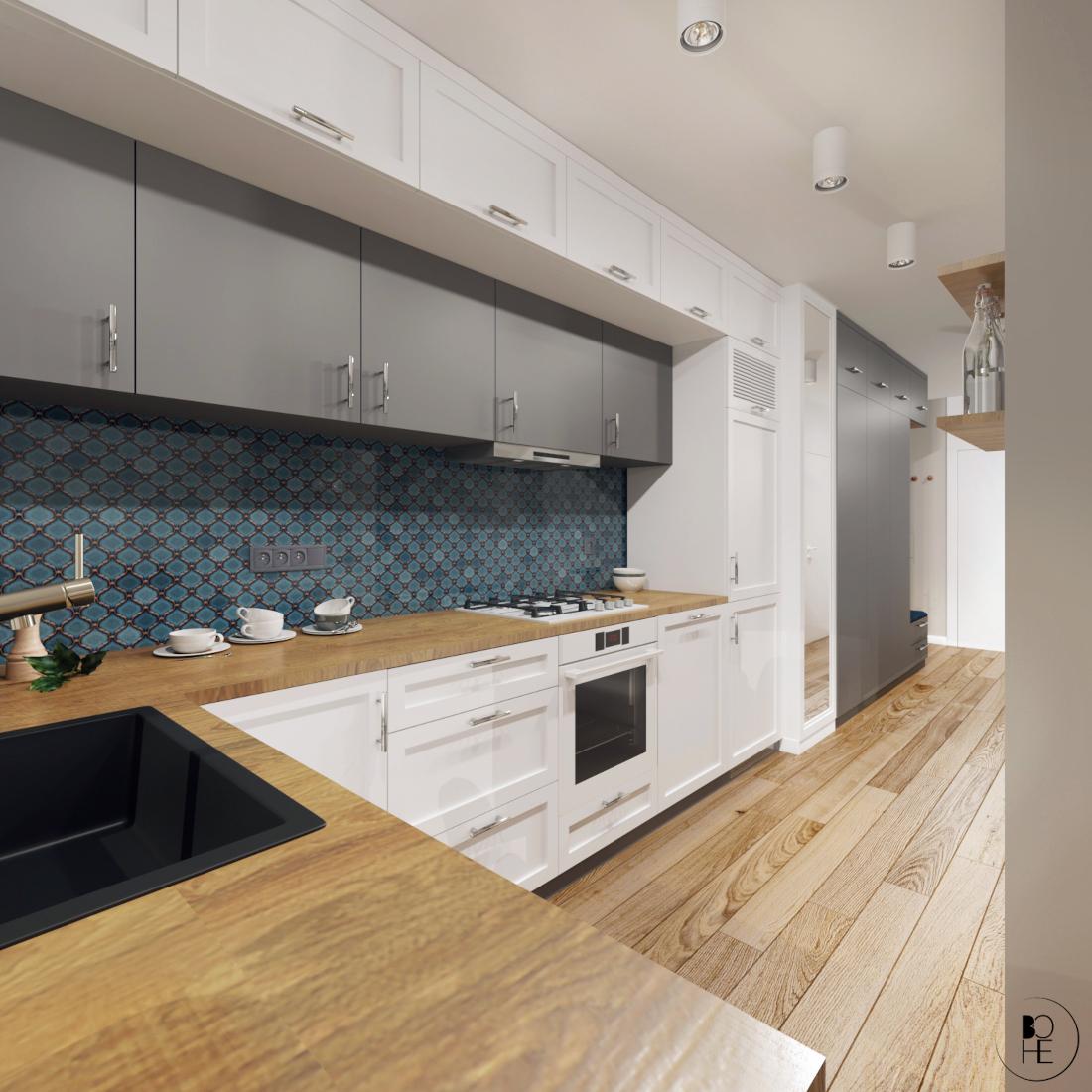 biuro architektoniczne białystok projekt kuchni