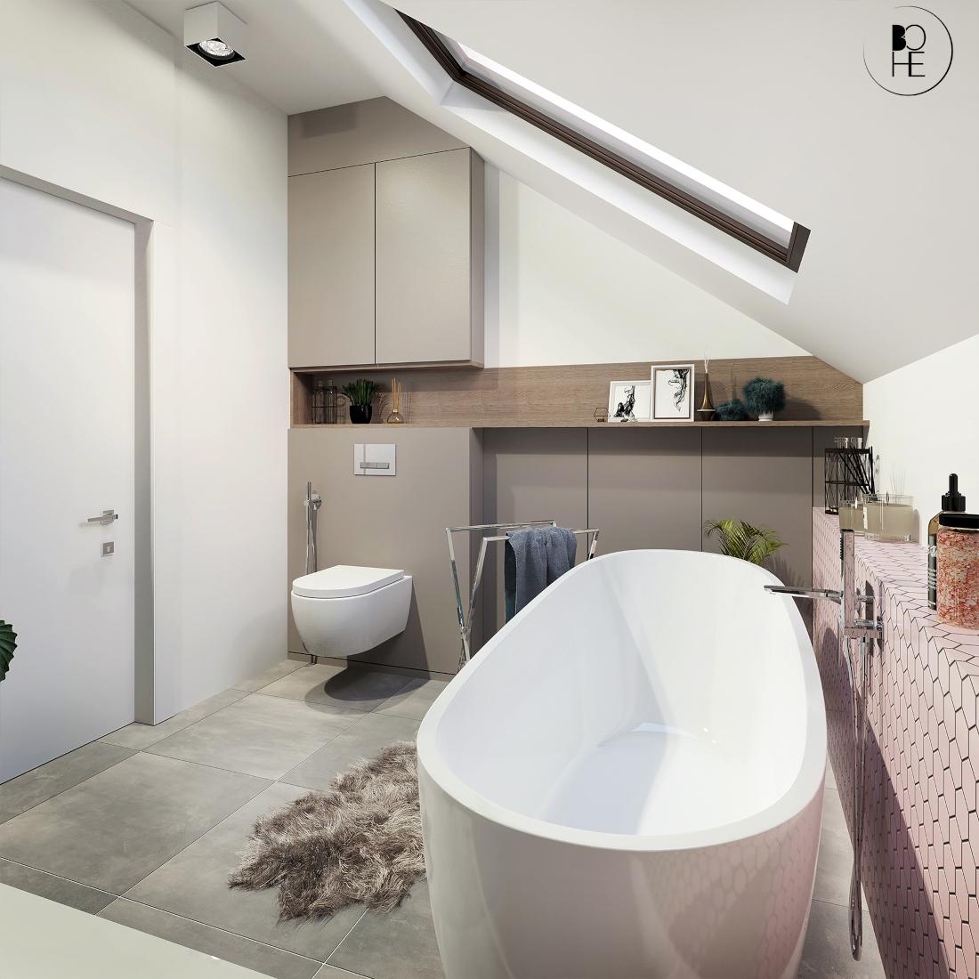 biuro projektowe białystok łazienka z wanną wolnostojącą