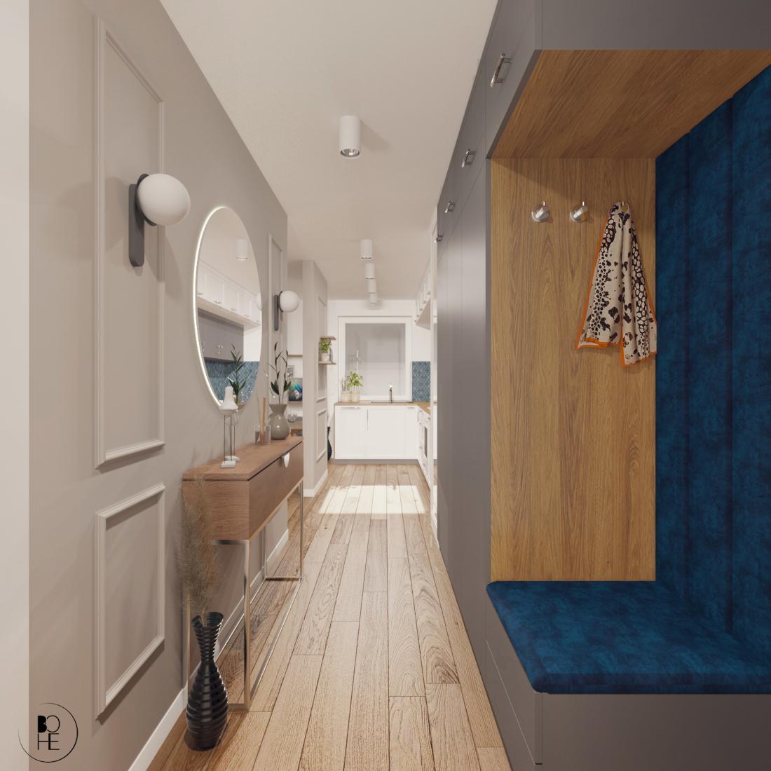biuro projektowe białystok projekt korytarza