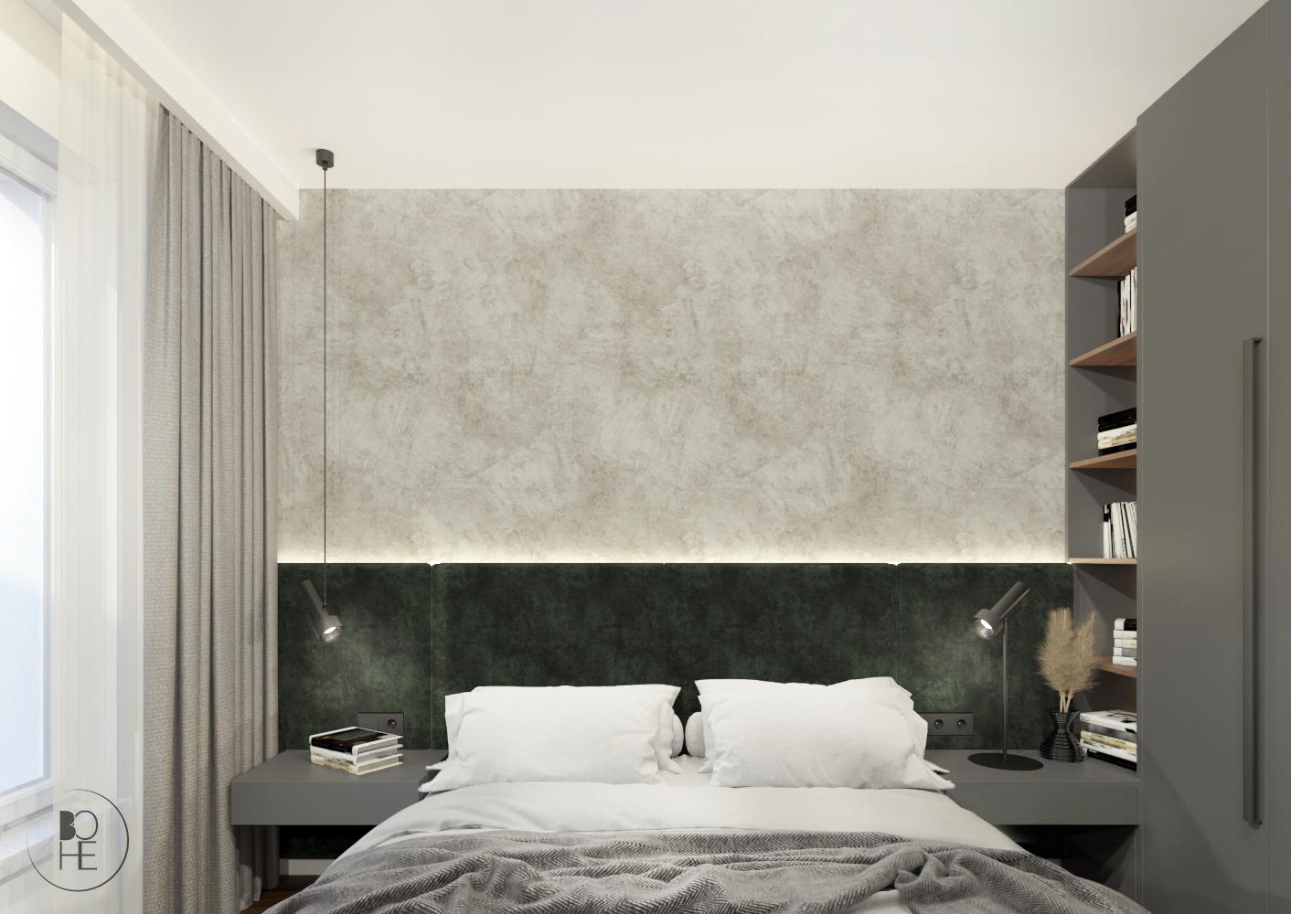architekt wnętrz warszawa projekt sypialni