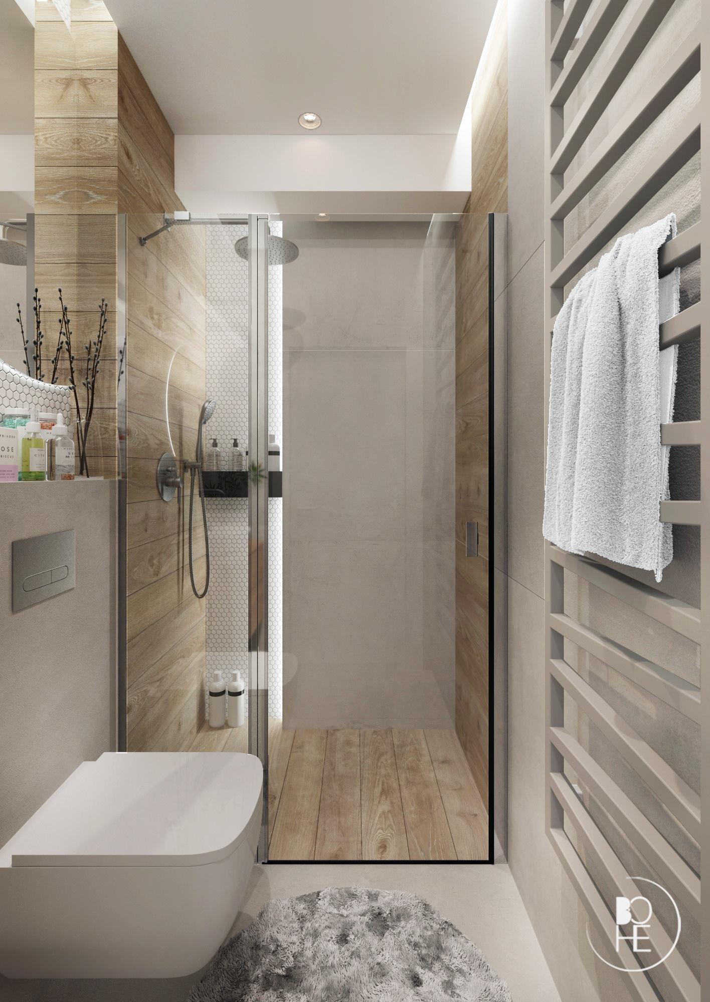 projekt łazienki architekt Łódź