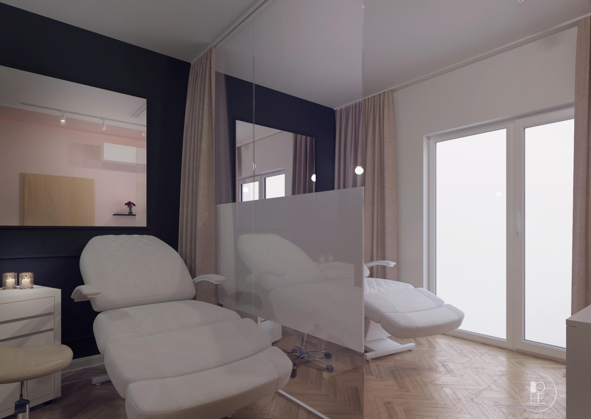 projekt gabinetu kosmetycznego białystok 1