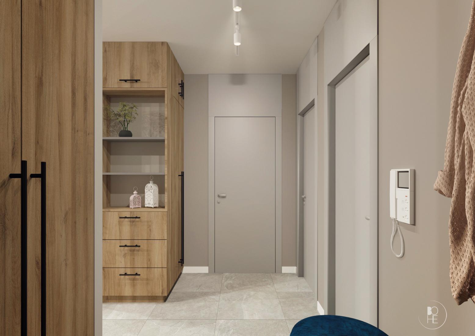 projekt małego korytarza białystok 1