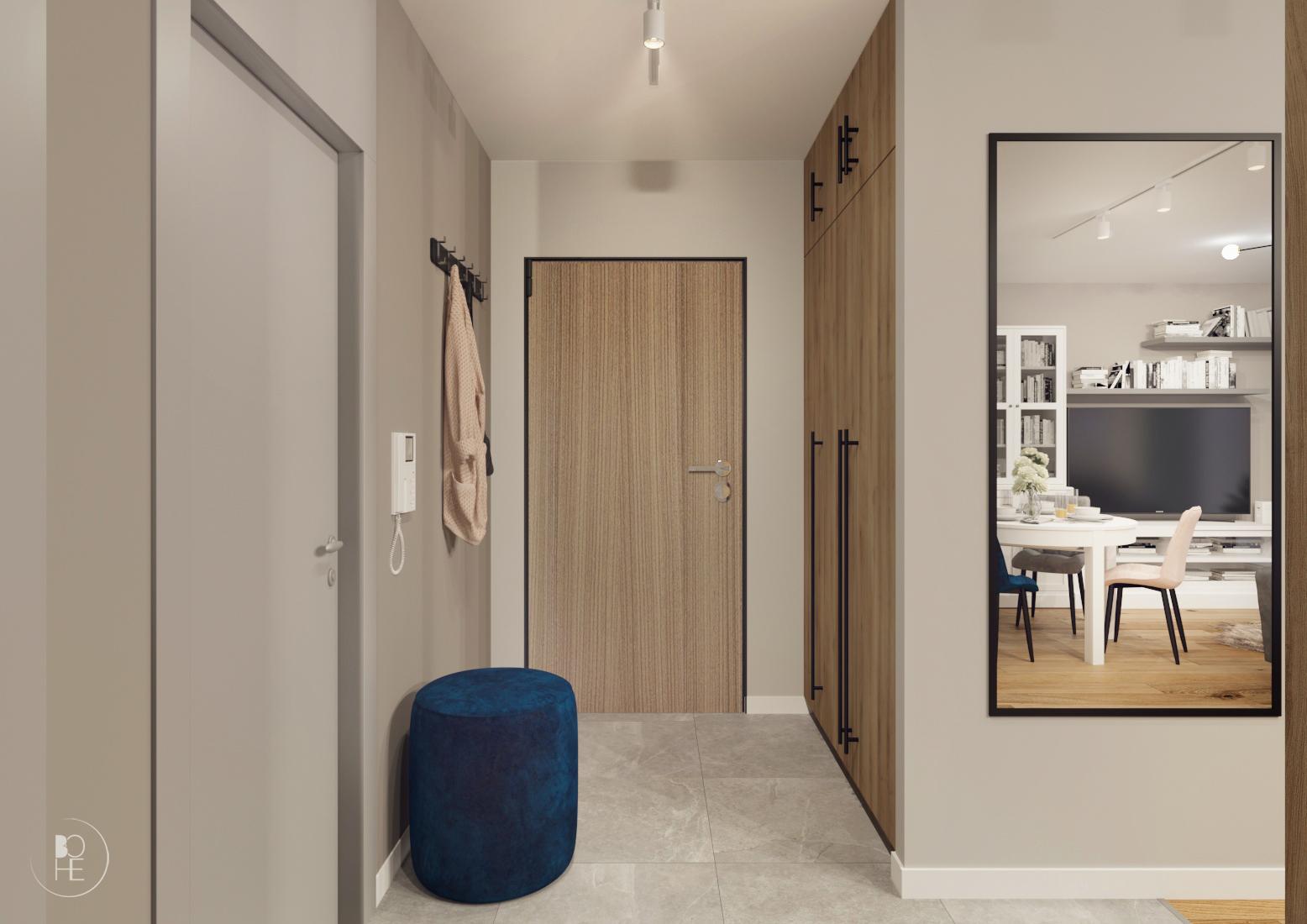 projekt małego korytarza białystok 2