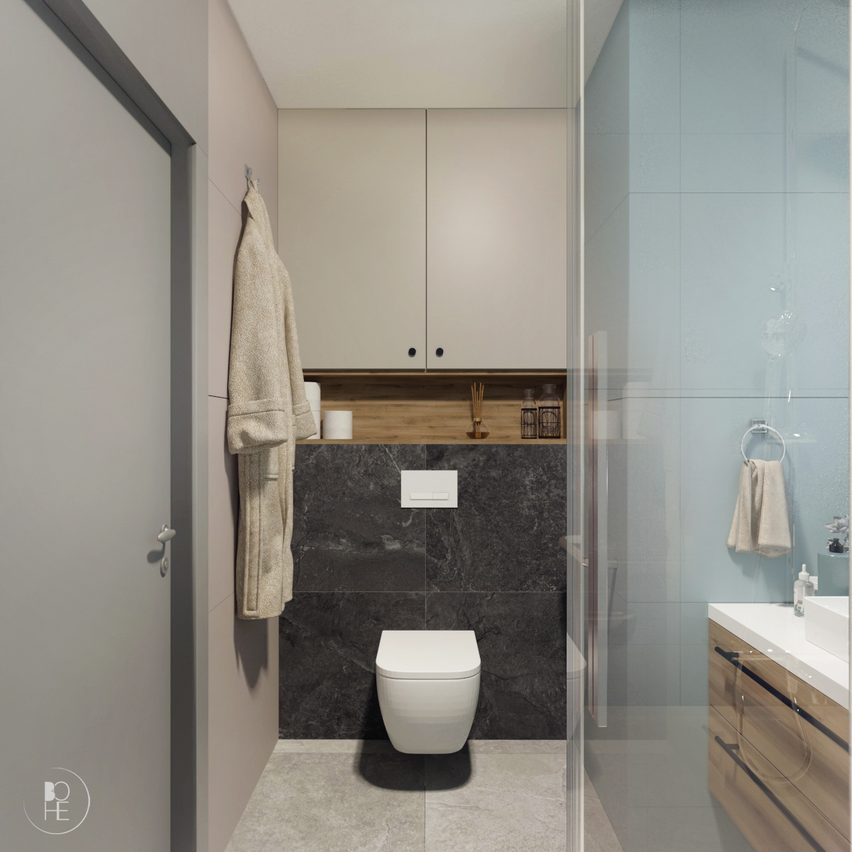 projekt małej łazienki białystok 3