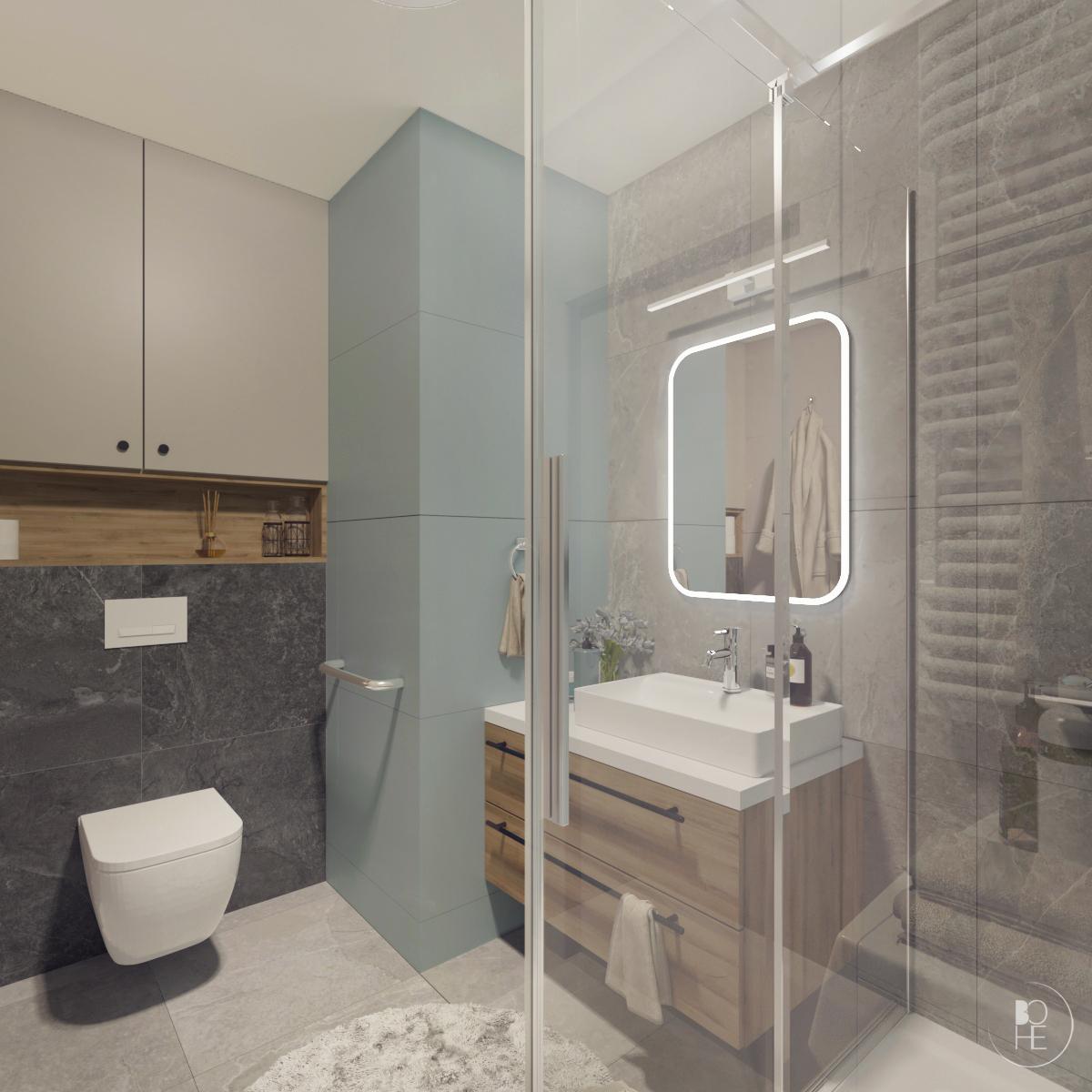 projekt małej łazienki białystok 4