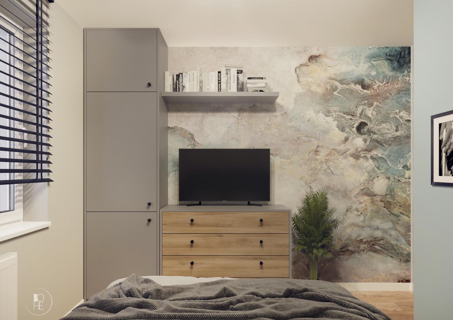 projekt małej sypialni poznań 3