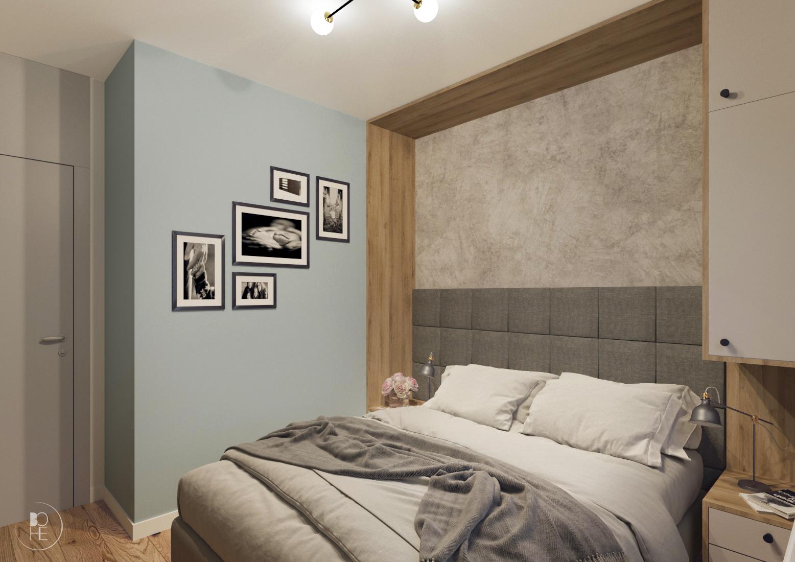 projekt małej sypialni poznań 4