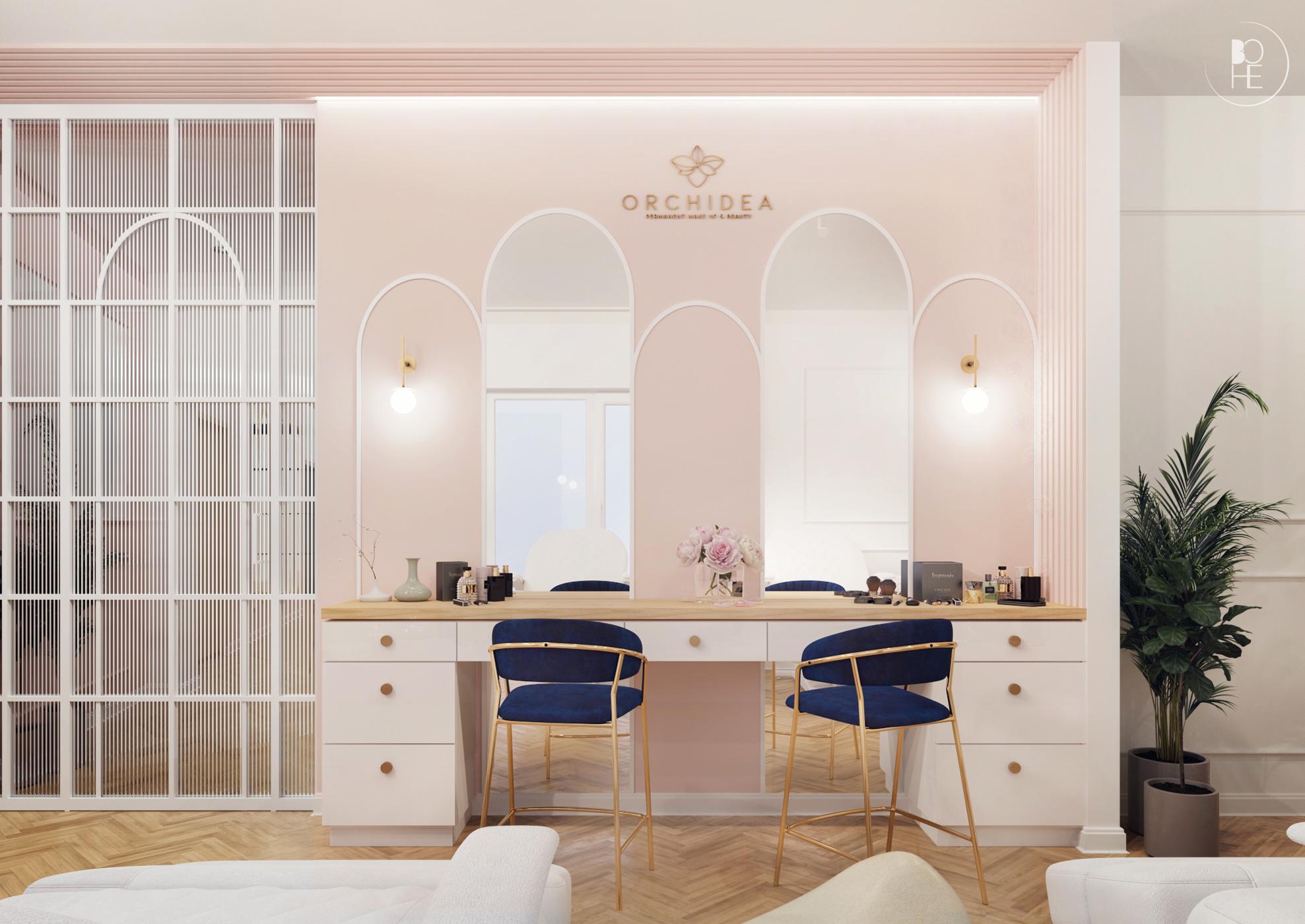 projekt salonu kosmetycznego kraków 1