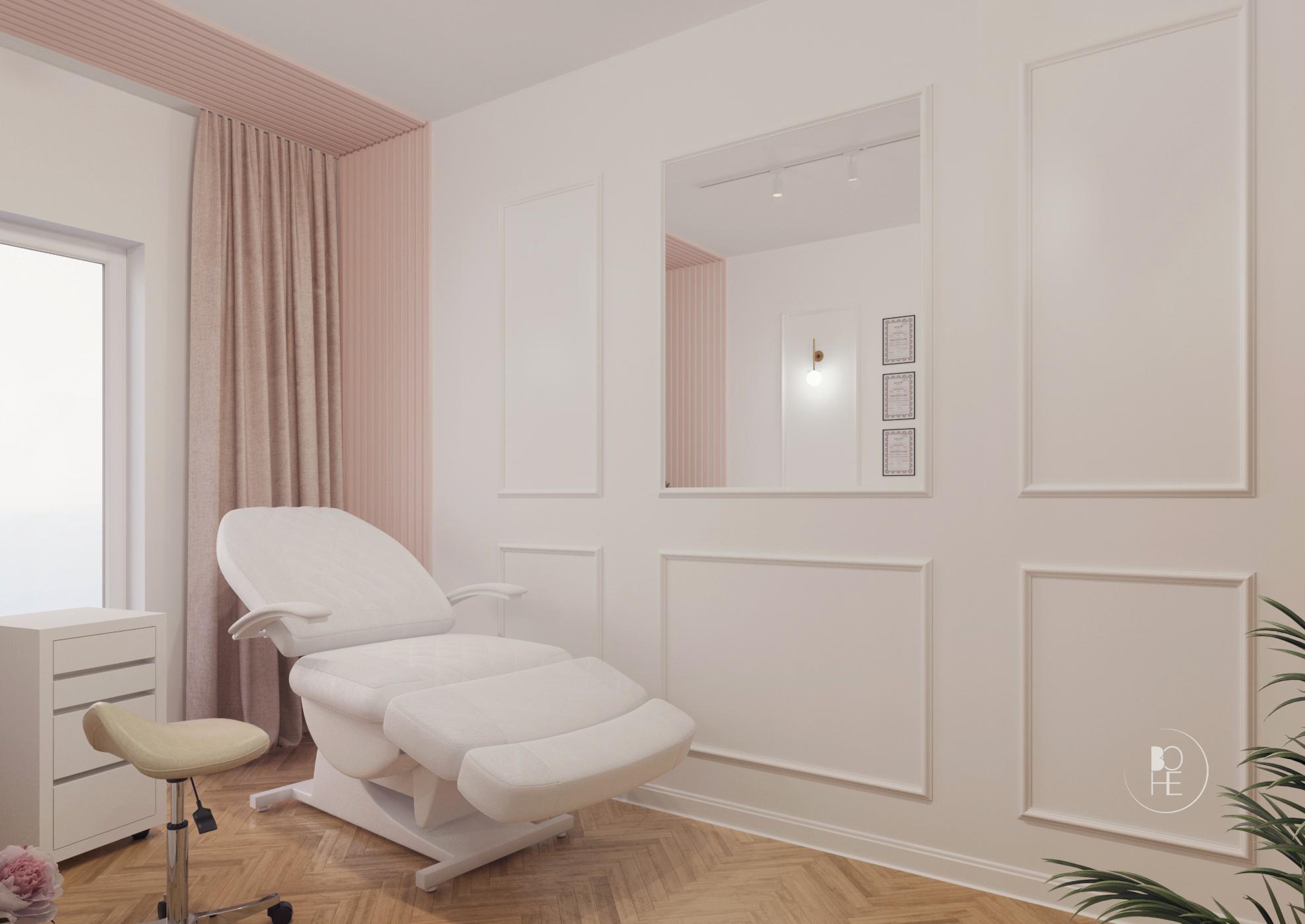 projekt salonu kosmetycznego toruń 1