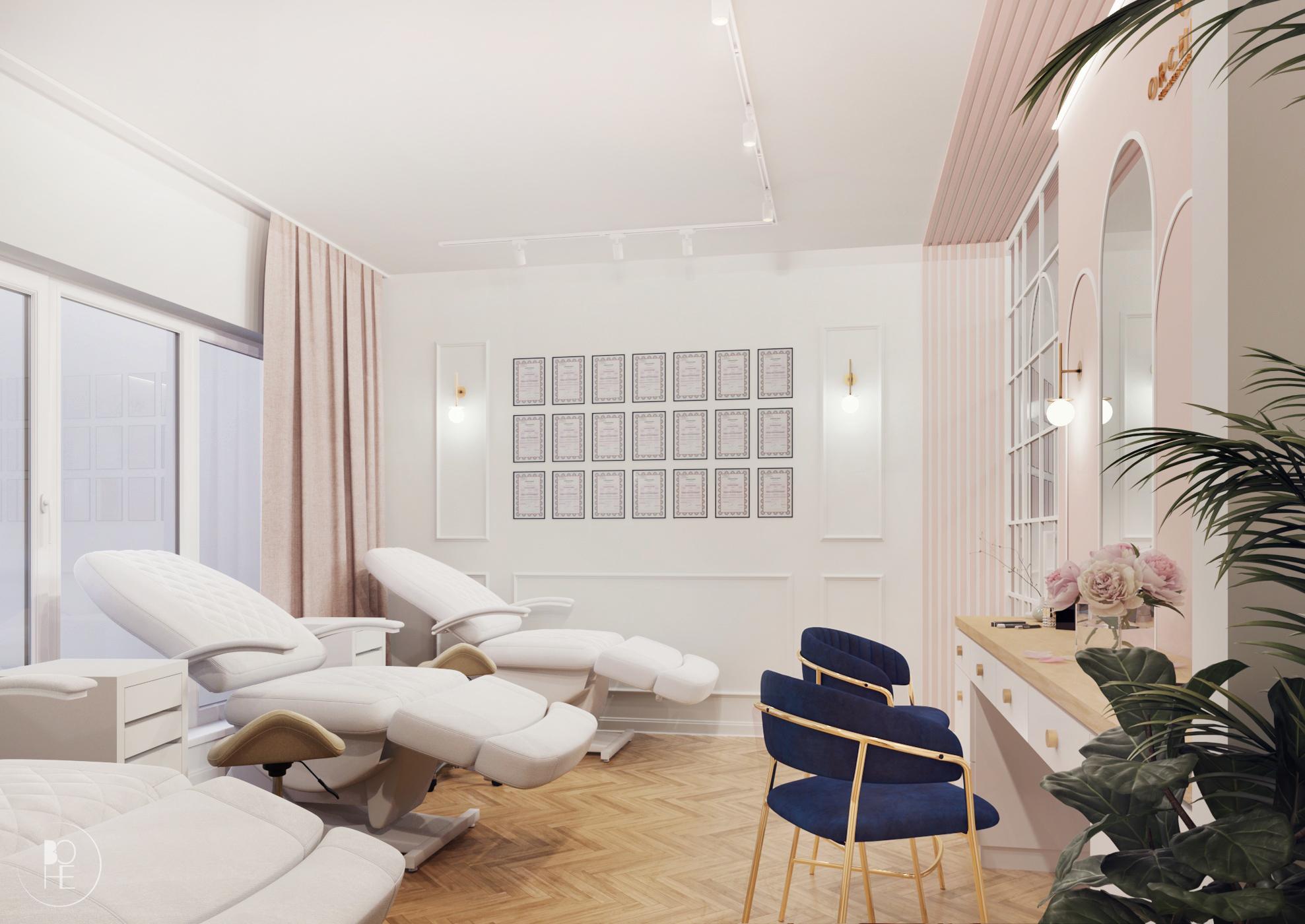 projekt salonu kosmetycznego warszawa 1